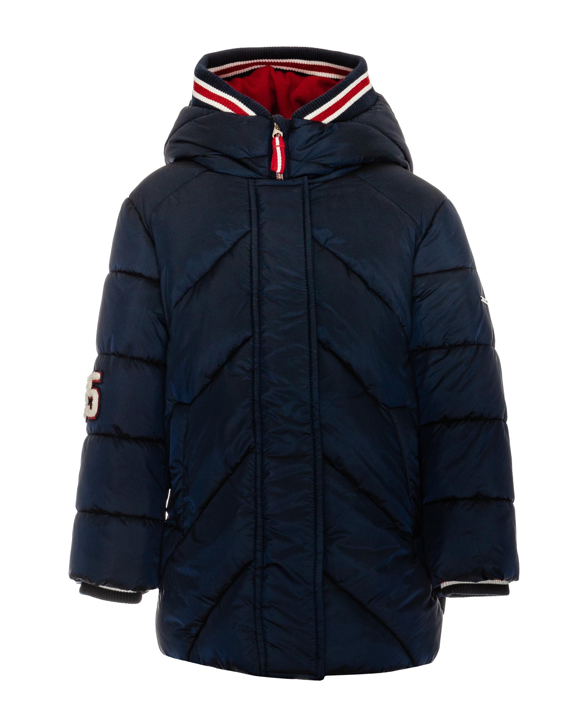 Купить 21903GMC4504, Пальто для девочек Gulliver, цв. синий, р.104,