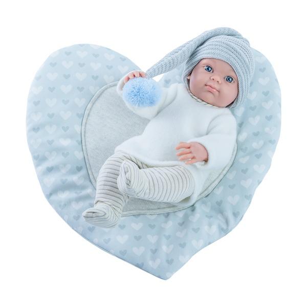 Купить Кукла-мальчик Бэби Paola Reina с ковриком-сердце, 32 см, Пупсы