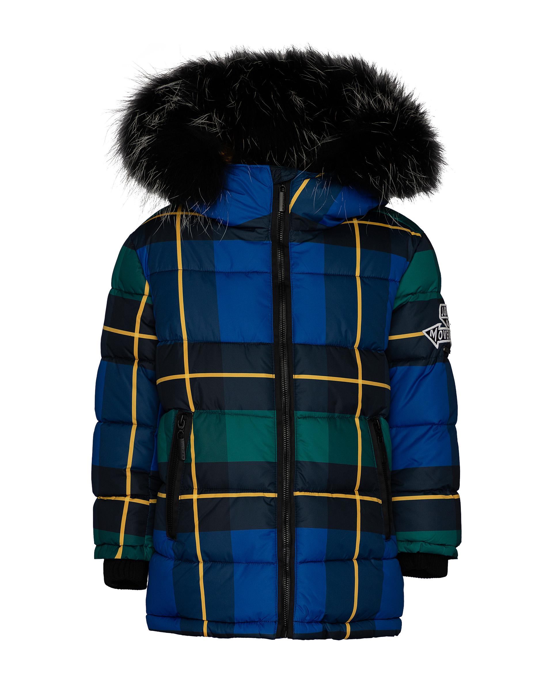 Купить 21904BMC4503, Пальто для мальчиков Gulliver, цв. синий, р.116,