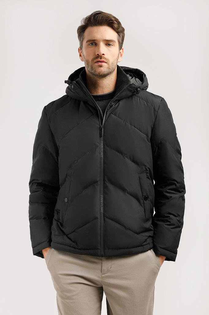 Куртка мужская Finn-Flare W19-42011 черная XL