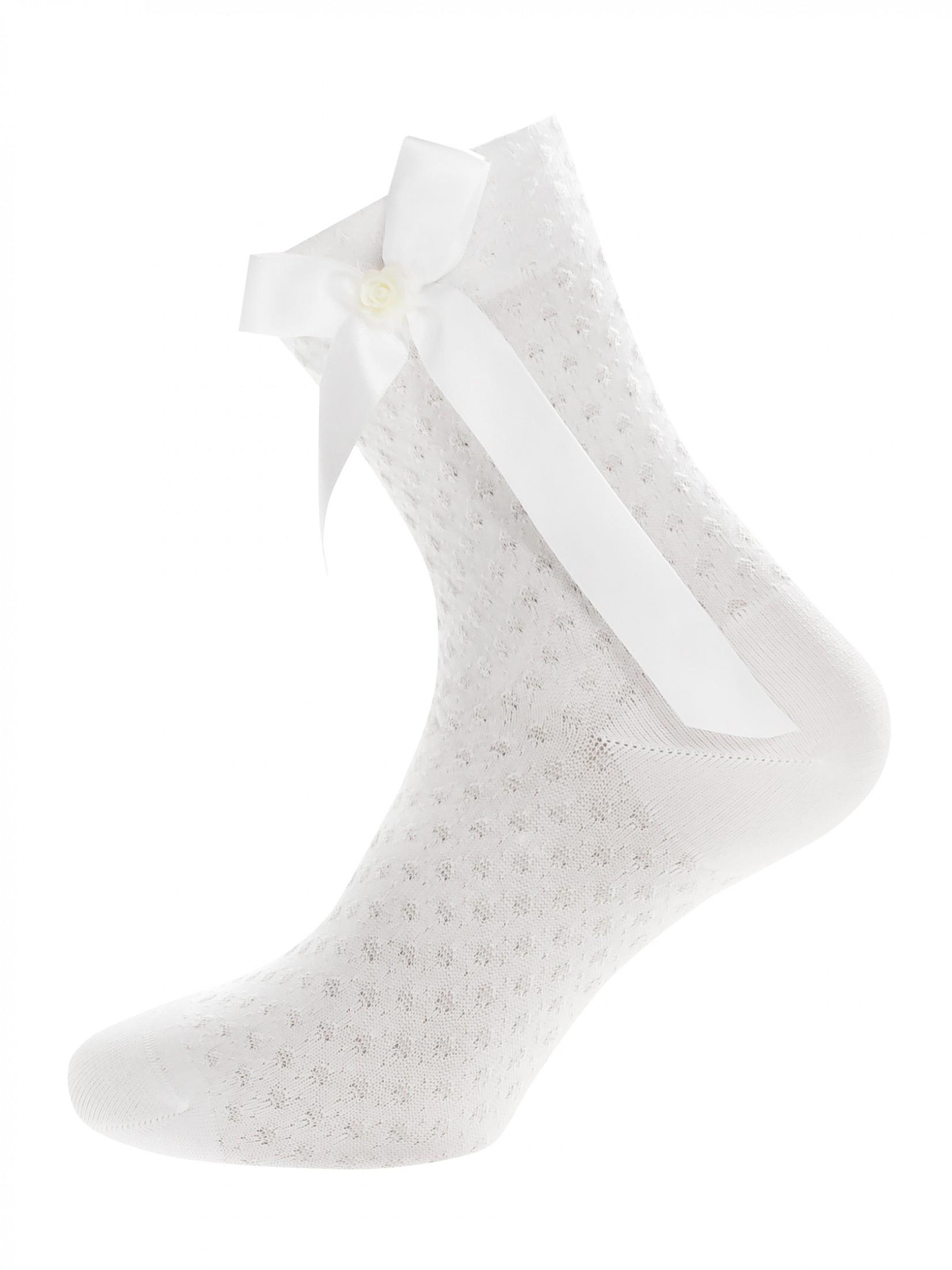 Носки женские Mademoiselle Freesia (c.) белые UNICA