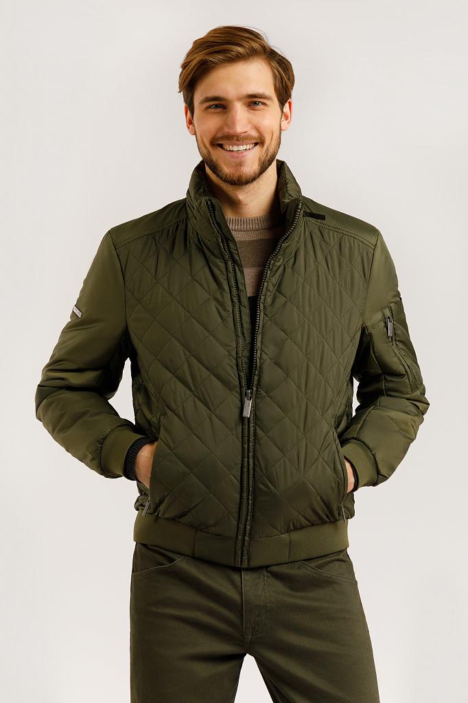 Куртка мужская Finn-Flare B20-42002 зеленая XL