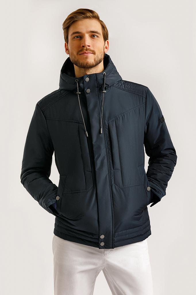Куртка мужская Finn-Flare B20-21006 синяя XL