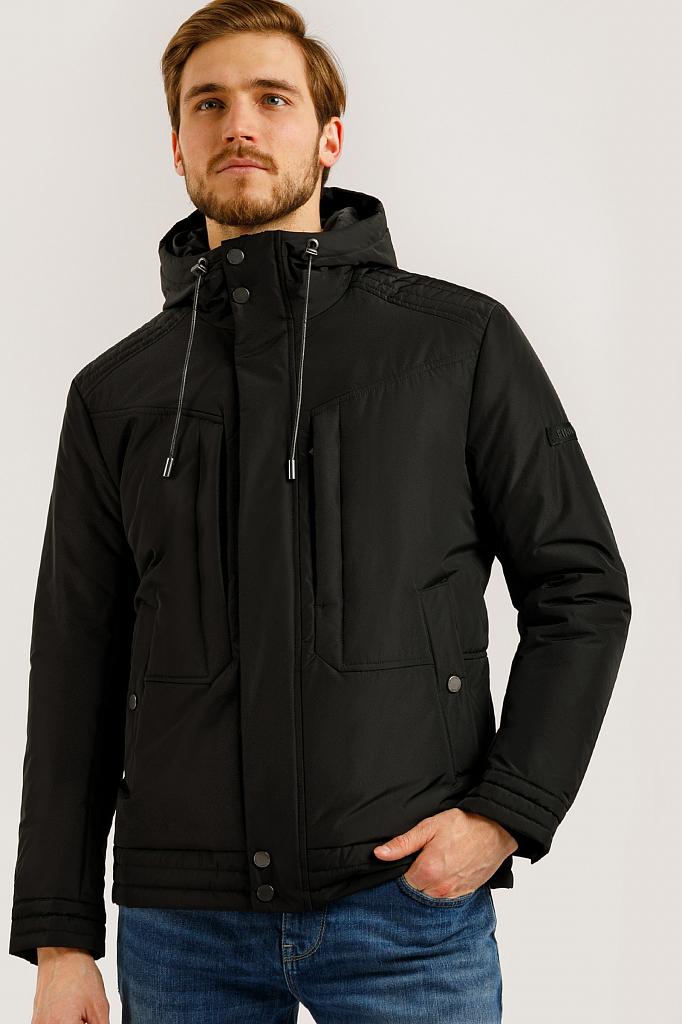 Куртка мужская Finn-Flare B20-21006 черная XL
