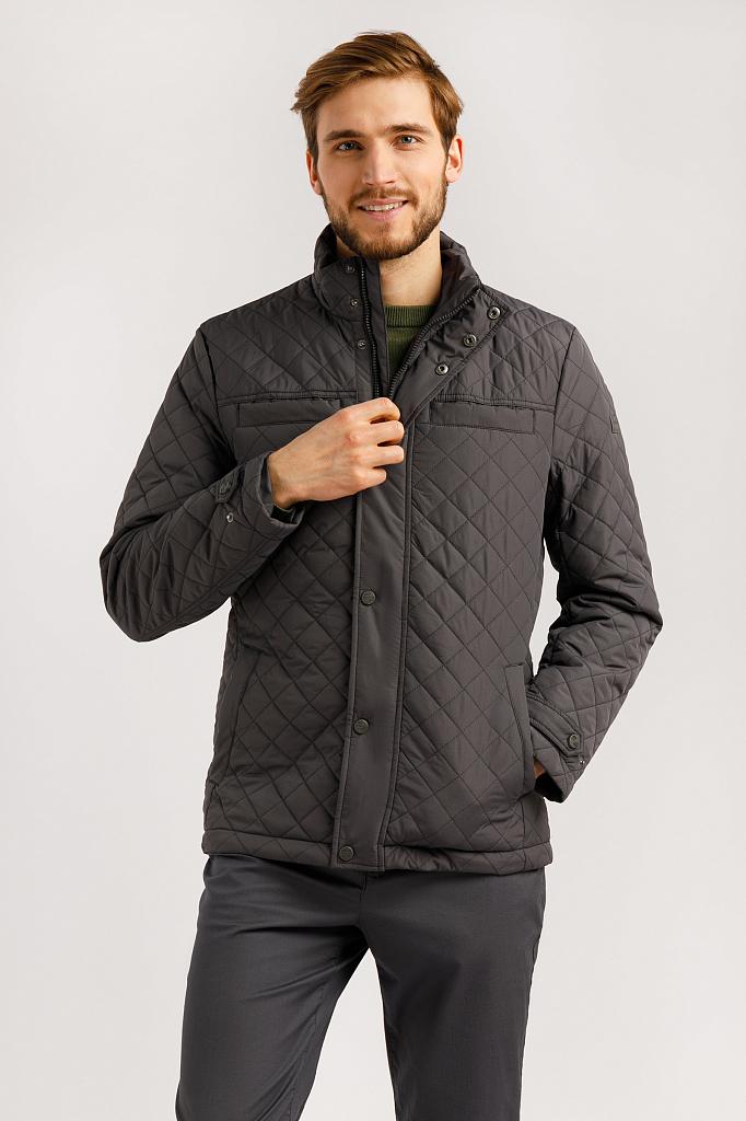 Куртка мужская Finn-Flare B20-22004 серая M