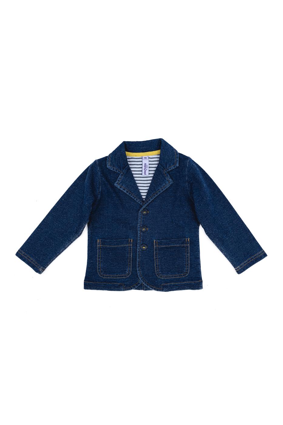 Пиджак детский PlayToday, цв. синий, р