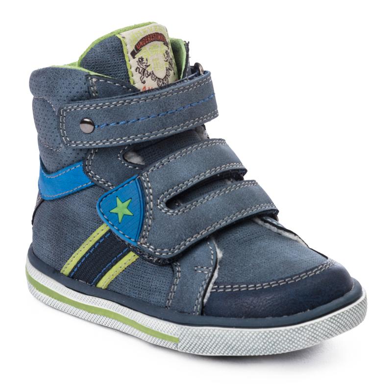 Ботинки детские Play Today, цв.серый р.23 377212