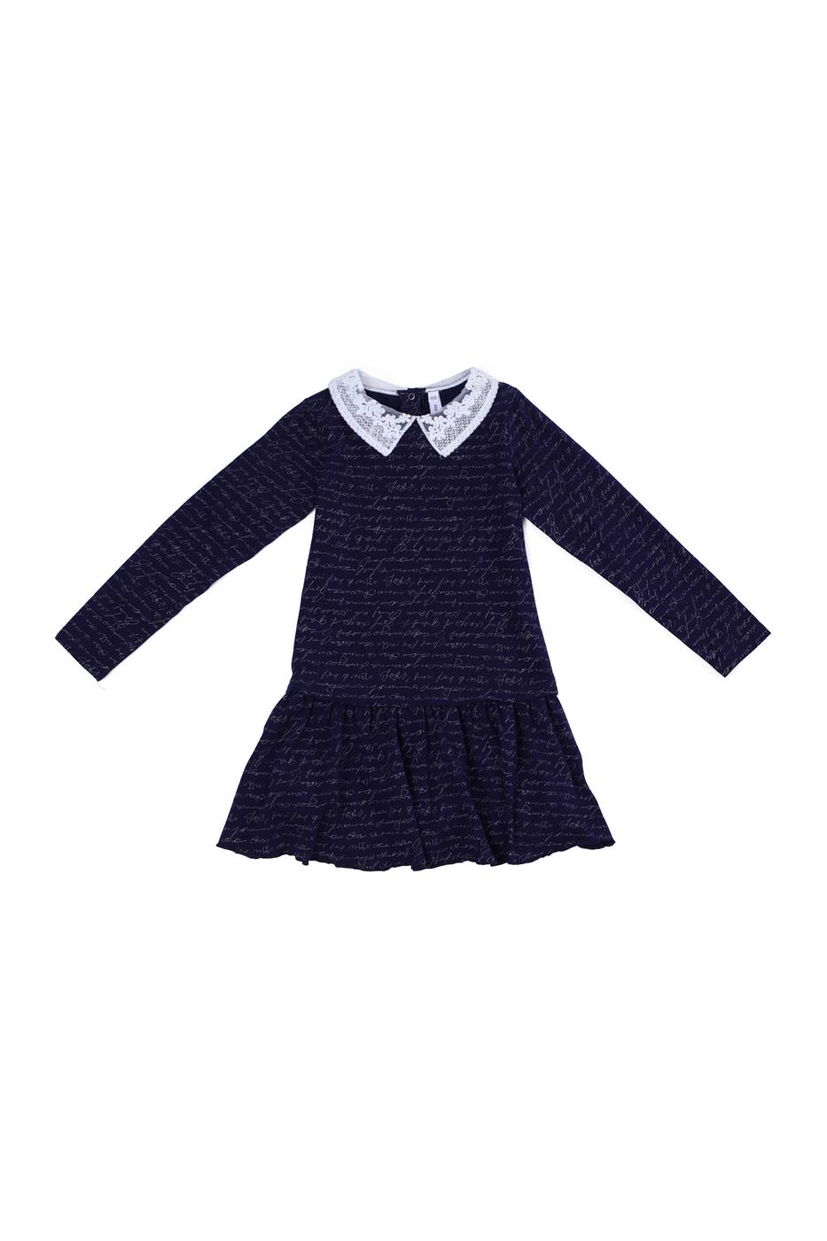 Платье детское PlayToday, цв. синий, р-р 116 Play Today 382077