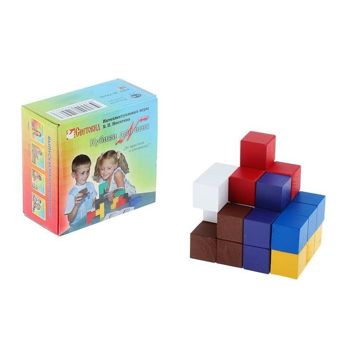 Купить Обучающая игра Световид Кубики для всех Н-007, Дидактические игры