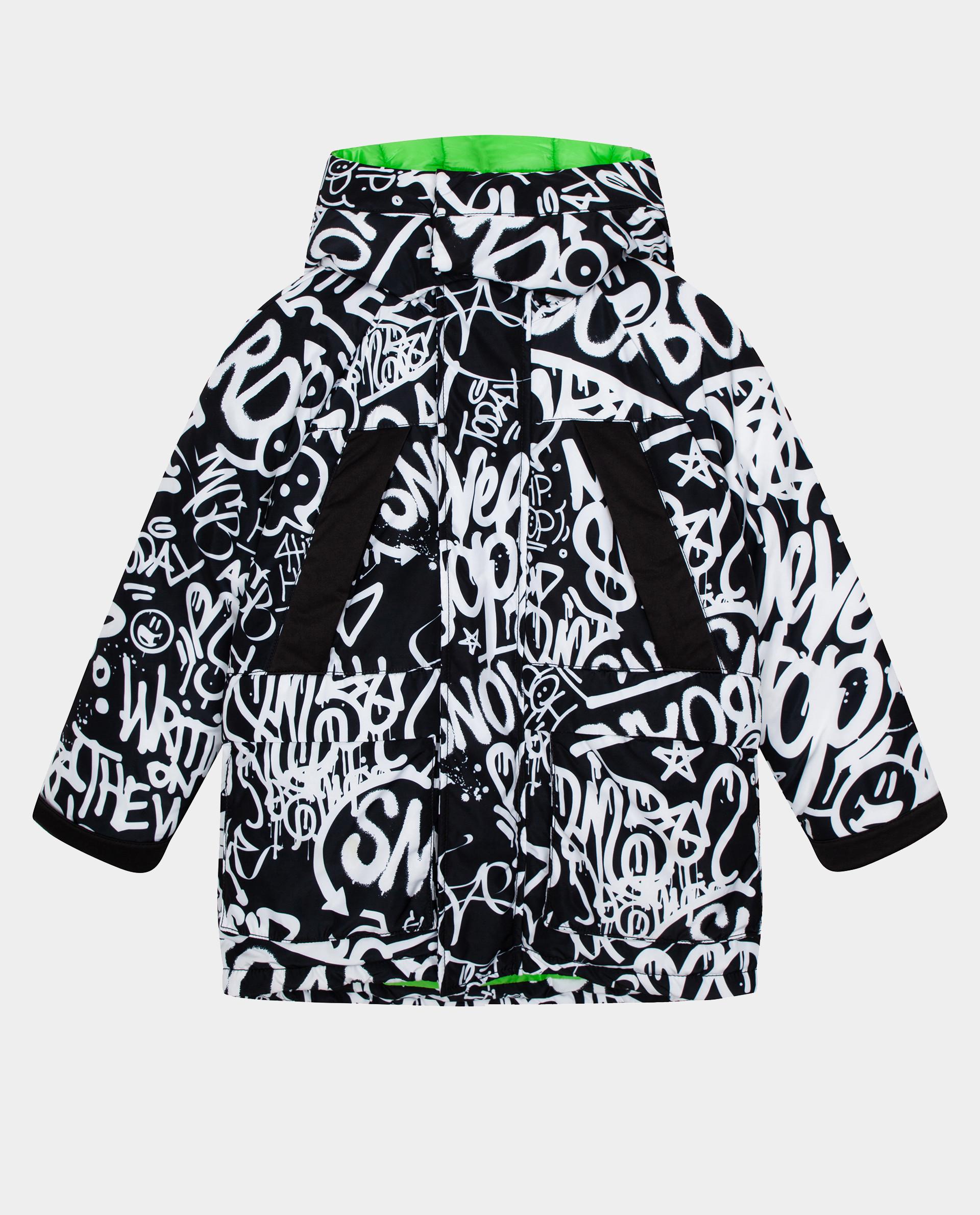 Купить Черная куртка зимняя Gulliver размер 164 22012BJC4104,