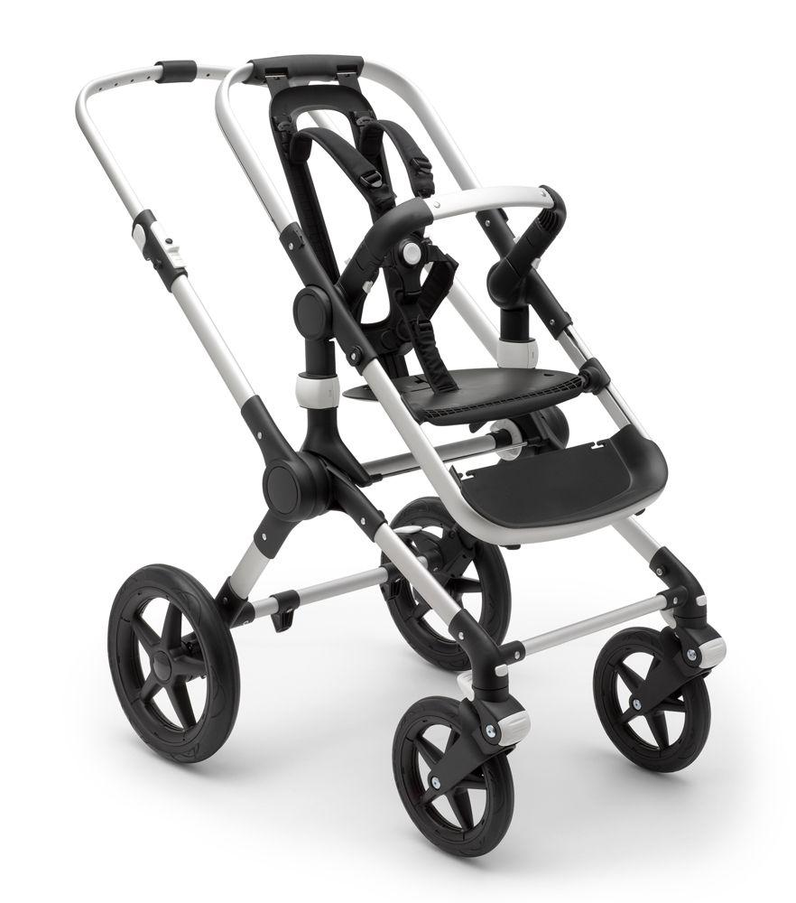 Купить Основание коляски Bugaboo FOX ALU 2019, цвет серебристый, Комплектующие для колясок