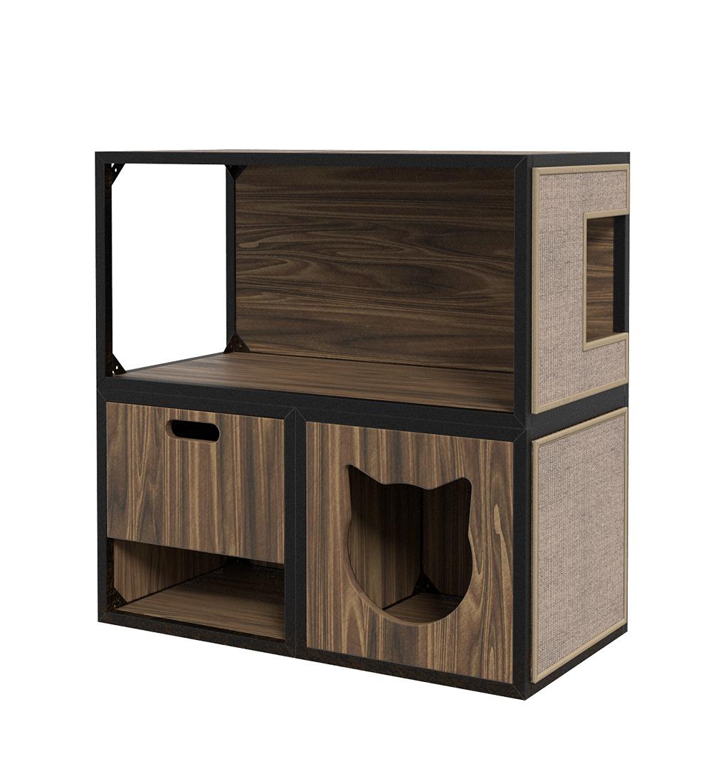 Комплекс для кошек Maisonnette «Лофт» с домиком,