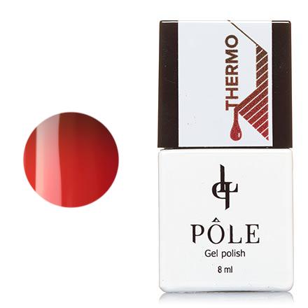 Купить Гель-лак POLE №07, шоколадный и коралловый