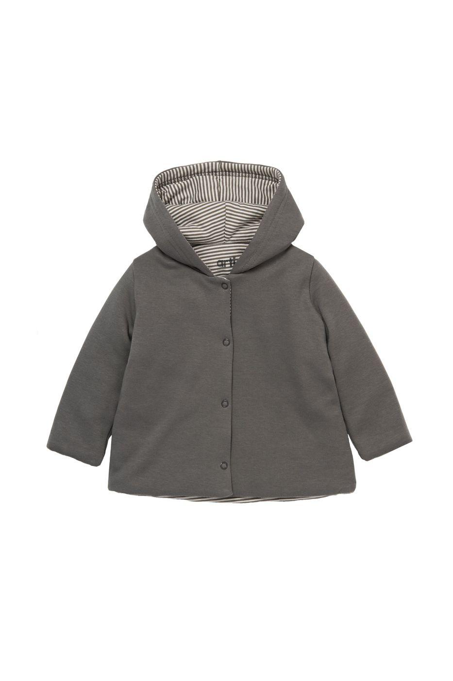 Куртка утепленная детская artie, цв. серый, р-р 62 Artie   фото