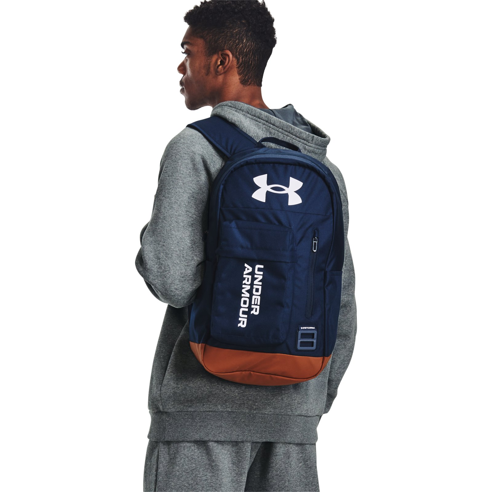 Рюкзак унисекс Under Armour Halftime Backpack синий