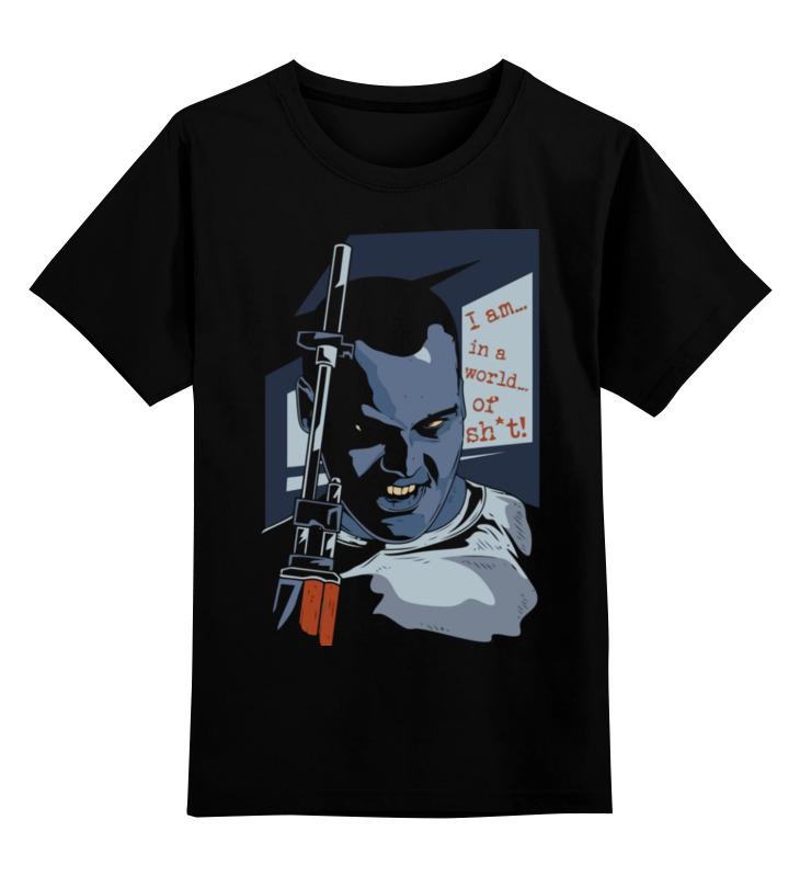 Детская футболка Printio Цельнометаллическая оболочка цв.черный р.164 0000003495201 по цене 990