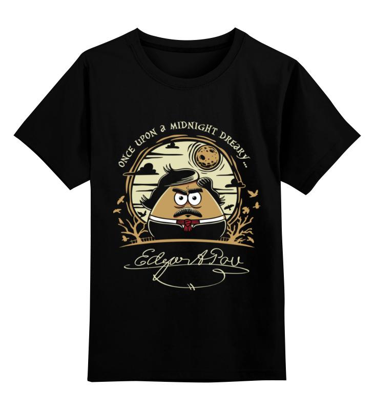 Детская футболка Printio Эдгар по цв.черный р.164 0000003501922 по цене 990