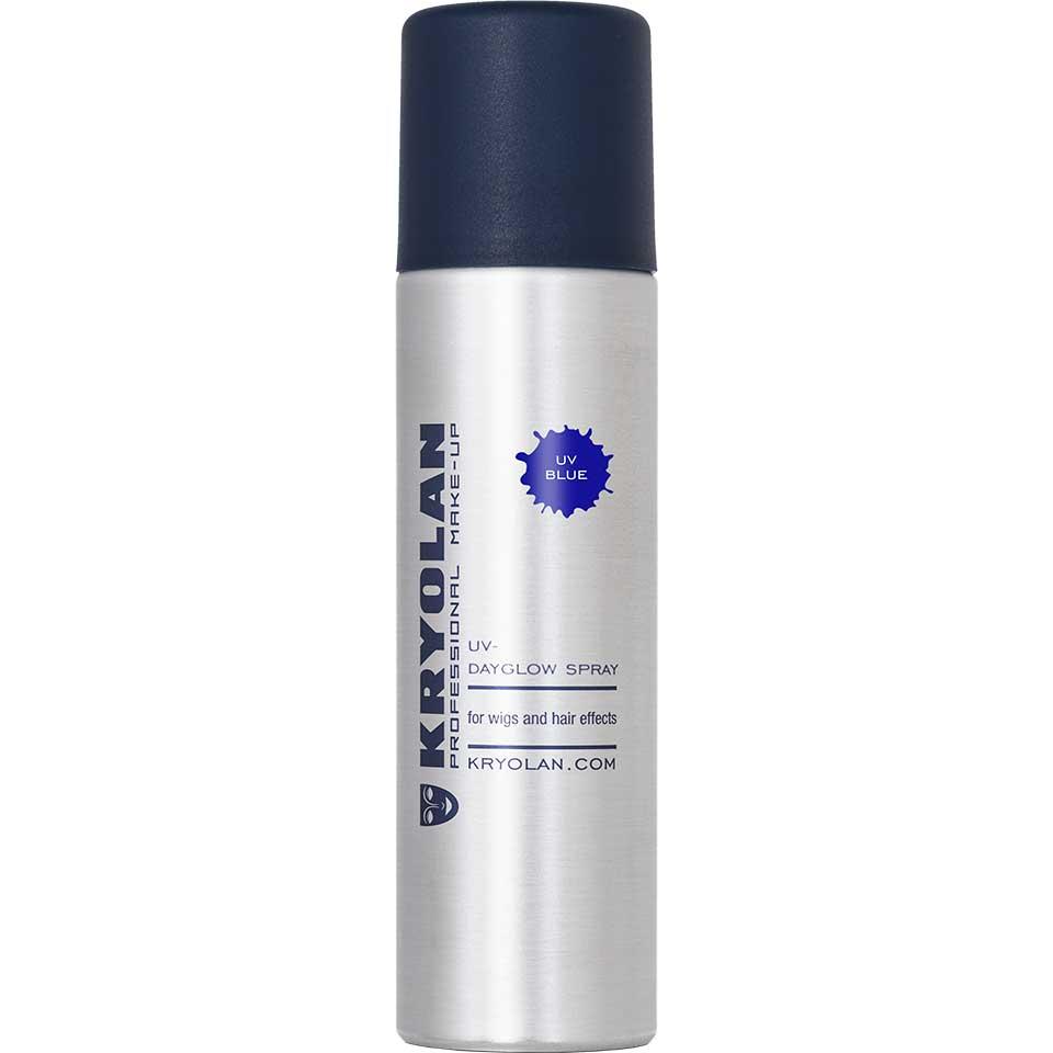 Купить Лак для волос Kryolan УФ/UV-Dayglow Spray, Цв: Blue 150 мл, Лак для волос УФ, 150 мл.