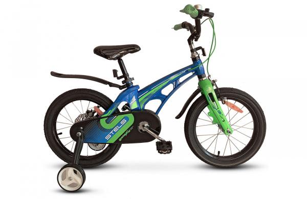 Купить Galaxy Pro 18 синий/зеленый one size, Велосипед Stels Galaxy Pro 18 синий/зеленый LU088569,