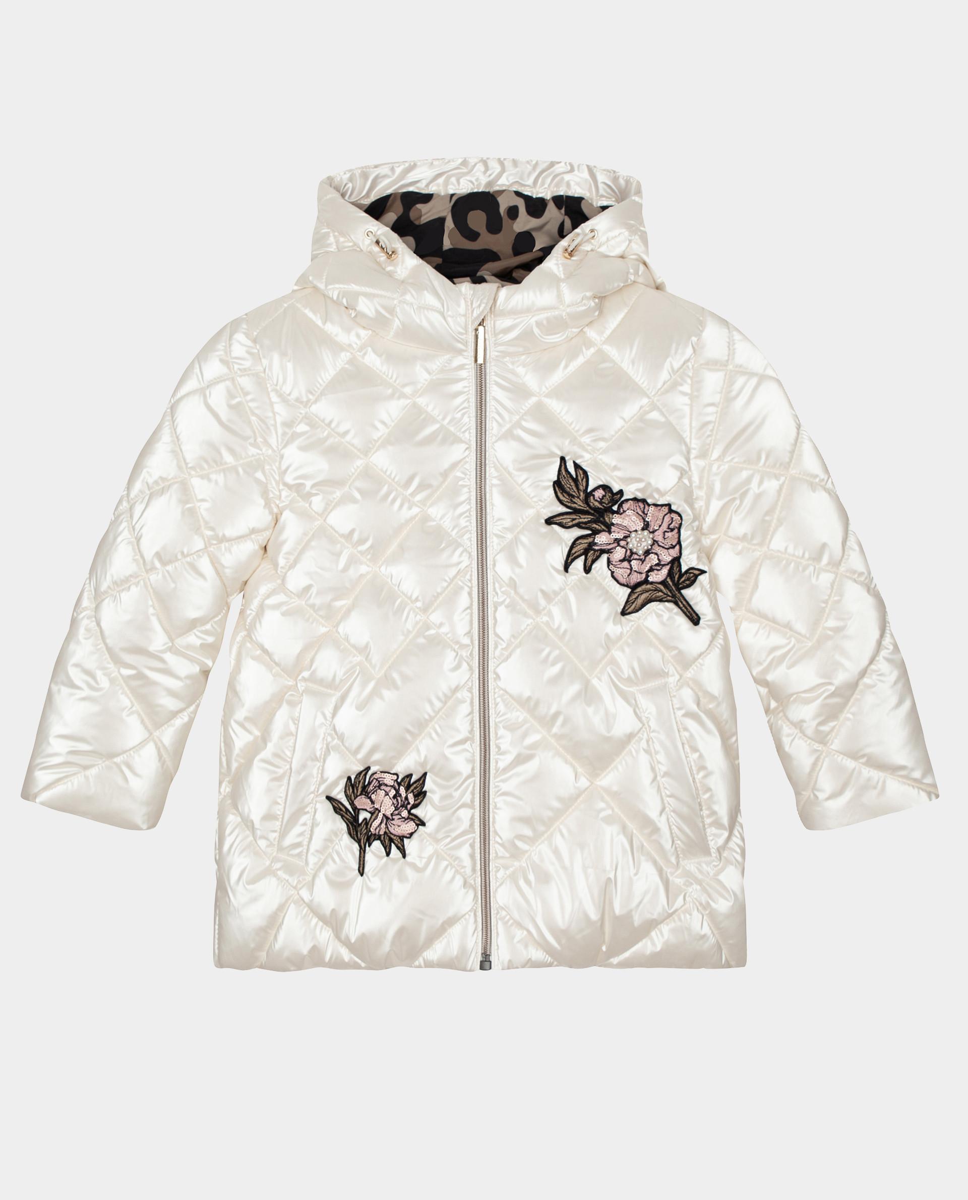 Купить Белая куртка зимняя Gulliver 22001GMC4106, размер 104,
