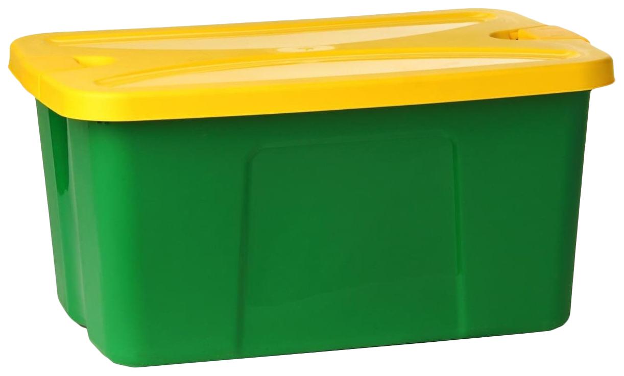 """Ящик для игрушек """"Секрет"""", ассорти М-пластика"""