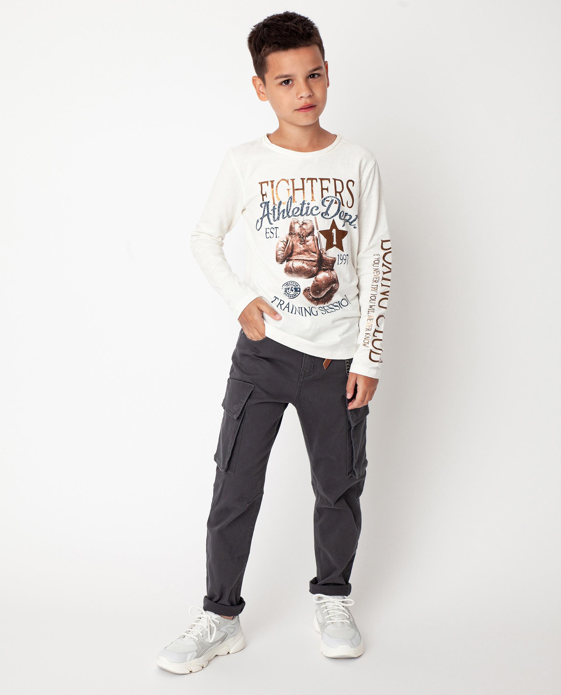 Серые брюки Gulliver 22010BJC6301, размер 146