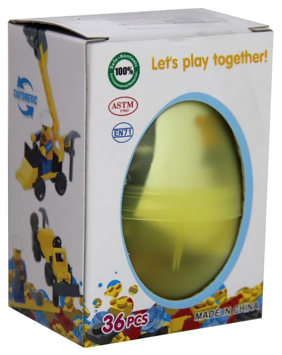 Купить Пластиковое яйцо с конструктором внутри, Smart Games,