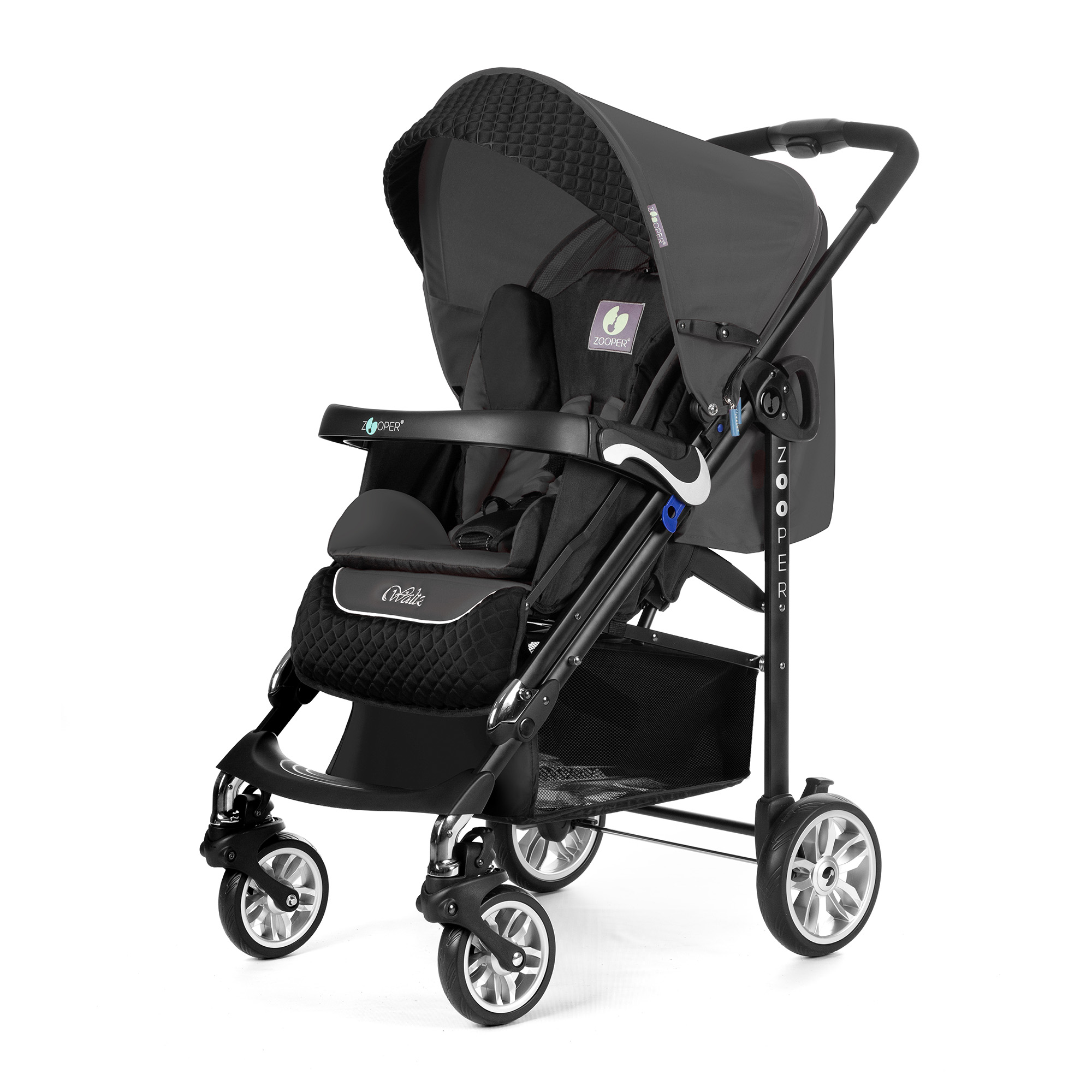 Прогулочная коляска Zooper Z9 Lux Grey