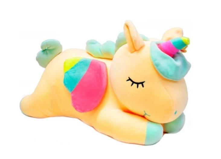 Купить Мягкая игрушка wellywell плюшевый Единорог 80 см,