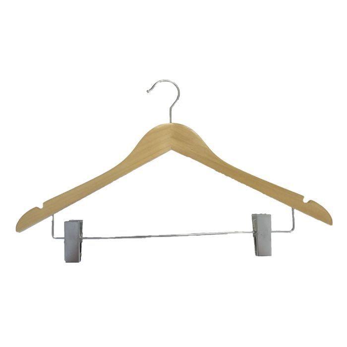 Вешалка деревянная для брюк и юбок