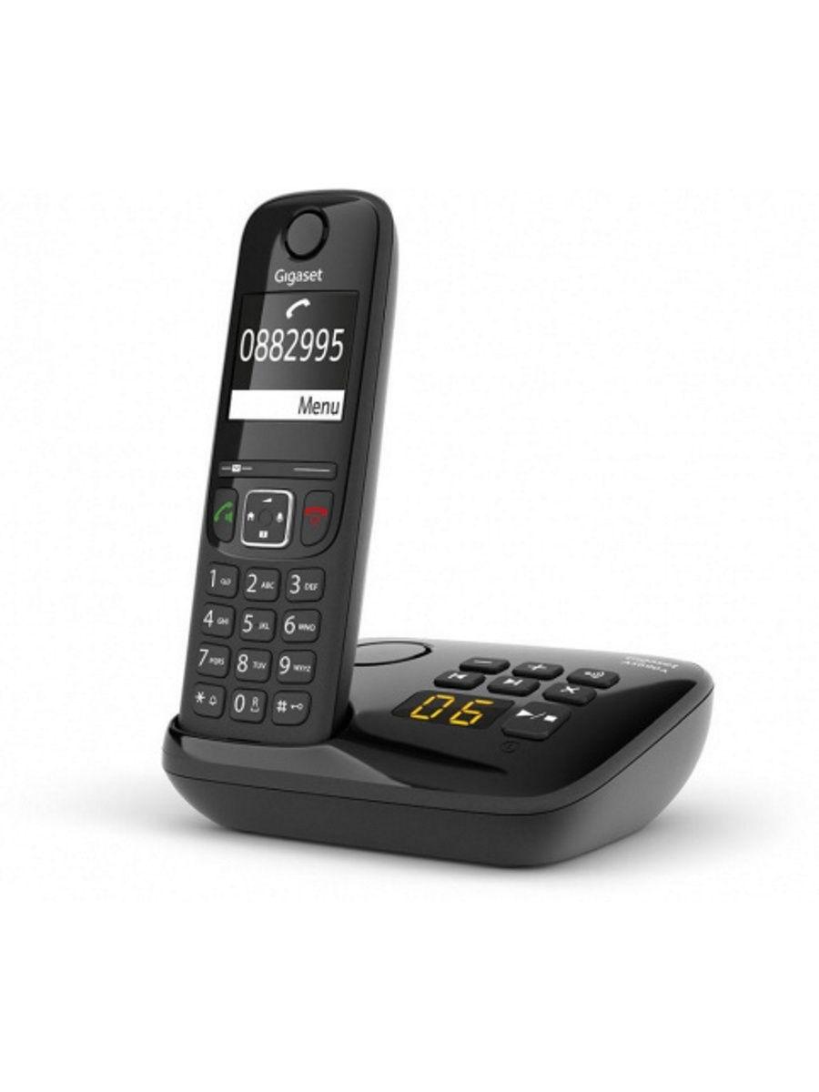 Радиотелефон Gigaset AS690A RUS Black