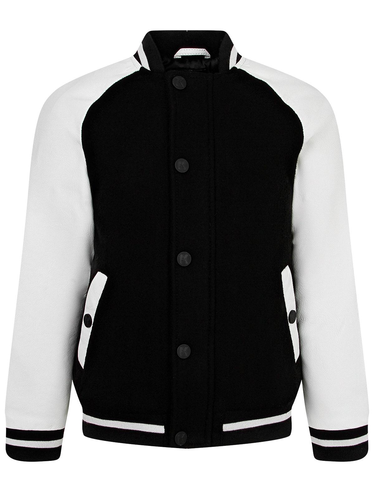 Купить Куртка KARL LAGERFELD для мальчиков Z26068 N50 черный 140,