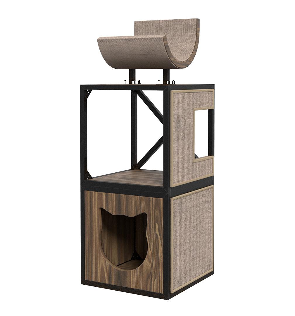 Комплекс для кошек Maisonnette «Лофт» с домиками,