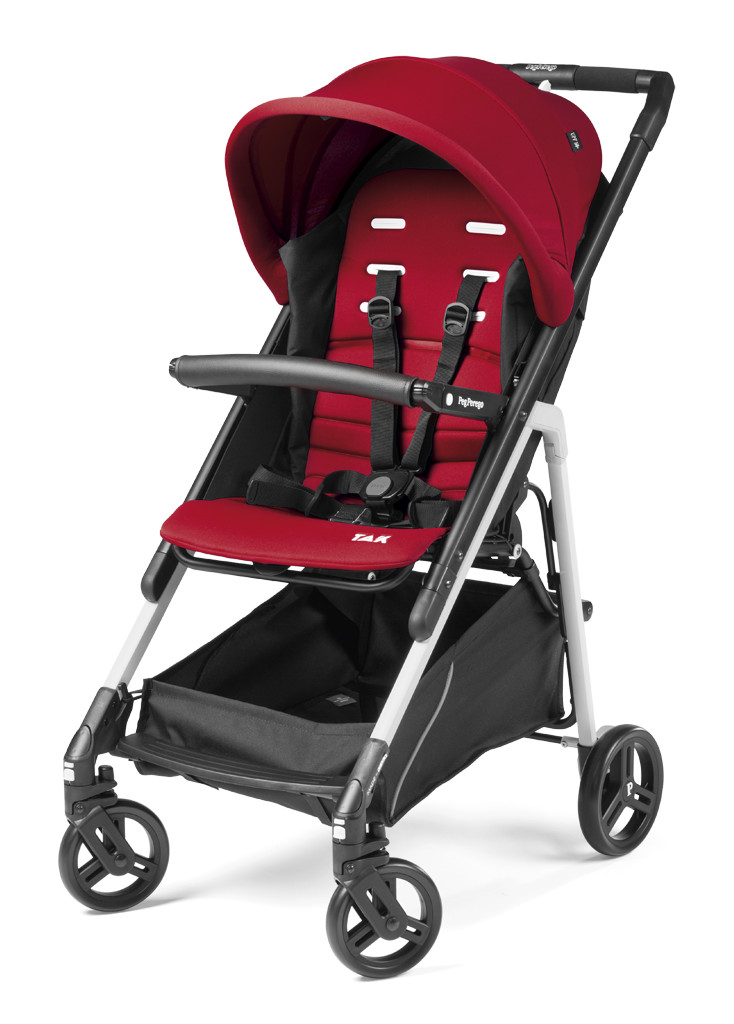 Купить Прогулочная коляска Peg-Perego Tak цвет: red ribbon,