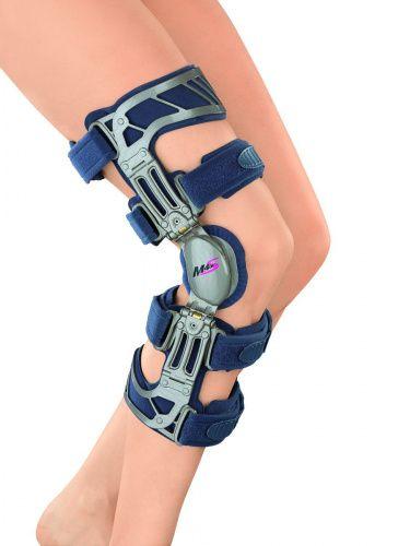 Купить Жесткий коленный ортез M.4s OA с регулируемым шарниром Варус G027-3 Medi р. XL Правый