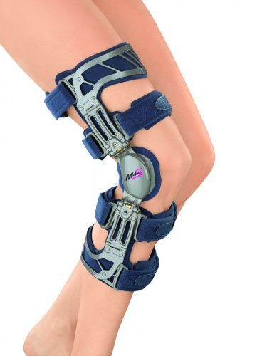 Жесткий коленный ортез M.4s OA с регулируемым шарниром Вальгус G028-2 Medi р. M Левый  - купить со скидкой