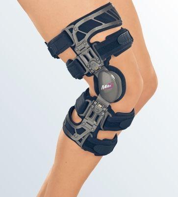 Жесткий коленный ортез Укороченный Вальгус M.4s OA short G035-3 Medi р. L Правый  - купить со скидкой