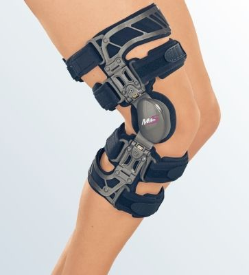 Купить Жесткий коленный ортез Укороченный Вальгус M.4s OA short G035-2 Medi р. M Левый