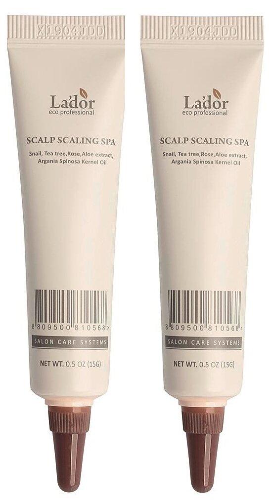 Купить Очищающая маска для кожи головы LADOR SCALP SCALING SPA 15ml, La'dor