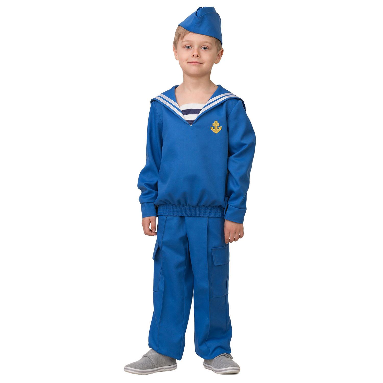 Купить Карнавальный костюм Матрос, размер 158-80, Батик,