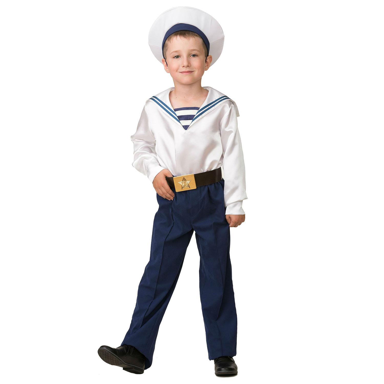 Купить Карнавальный костюм Матрос, парадный, размер 158-80, Батик,