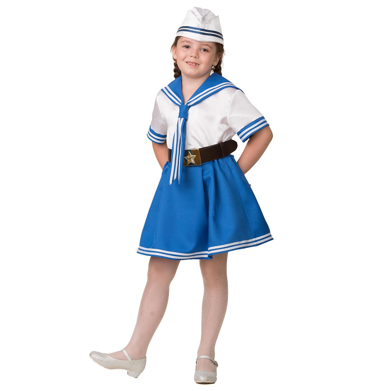 Купить Карнавальный костюм Морячка, размер 128-64, Батик,
