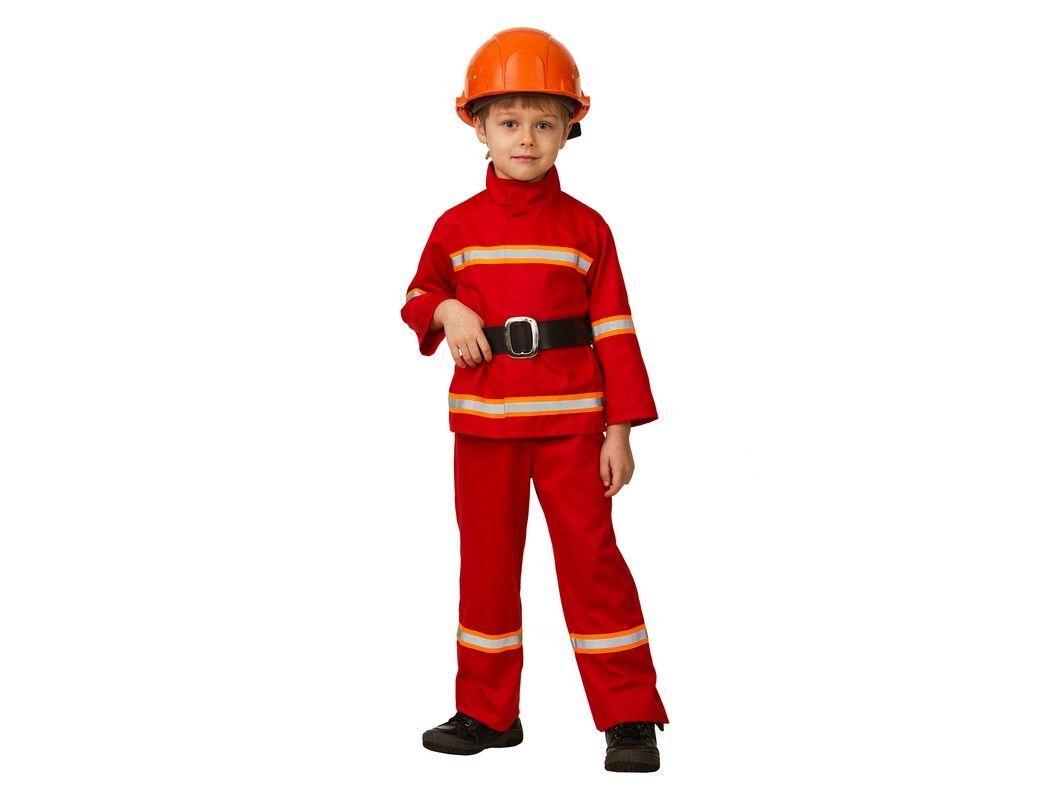 Купить Карнавальный костюм Пожарный, размер 158-80, Батик,