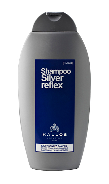 Купить Оттеночный шампунь KALLOS Shampoos SILVER COLOURING SHAMPOO Серебро, 350 мл, Kallos Cosmetics