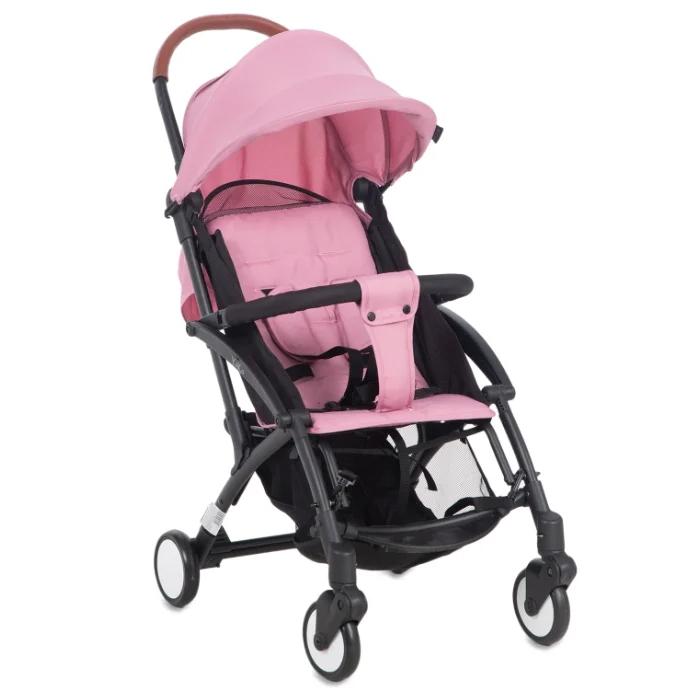 Купить Прогулочная коляска McCan Yoko, цвет: розовый,