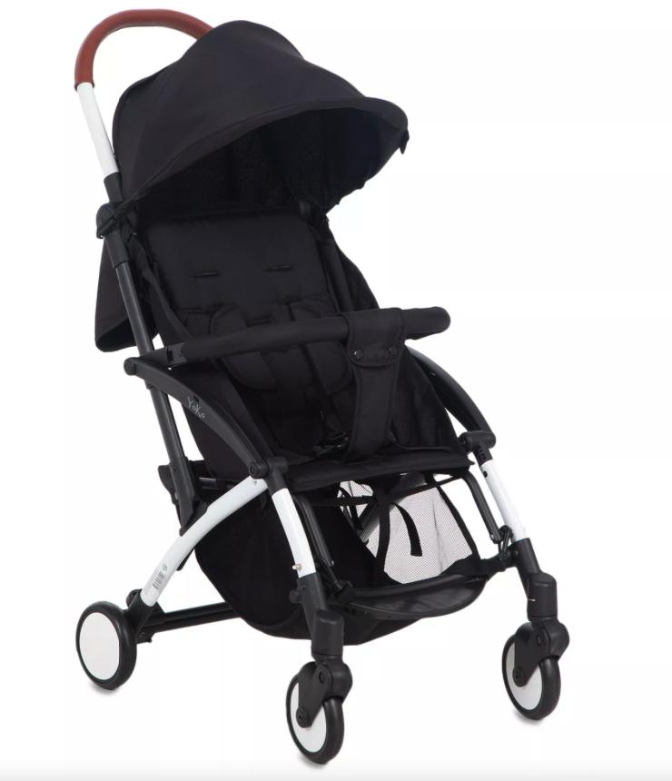 Купить Прогулочная коляска McCan Yoko, цвет: черный,