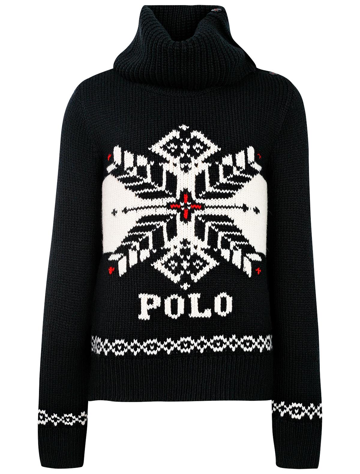 Купить Джемпер Polo Ralph Lauren для девочек 313763083001 (BLACK) черный 128,