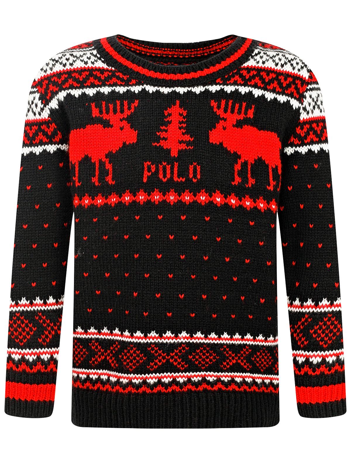 Купить Джемпер Polo Ralph Lauren для мальчиков 321765731001(322765731001) (BLACK MU) черный 122,