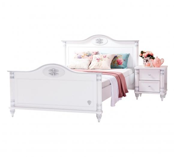 Купить 20.21.1307.00, Cilek Детская кровать Cilek Romantic XXL 200 на 140 см,