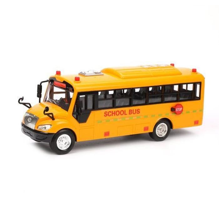 Автобус инерционный Школьный, арт. 32602